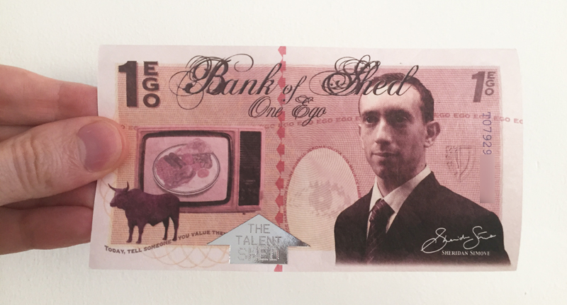 ego banknote in real life Shed Simove quora blur