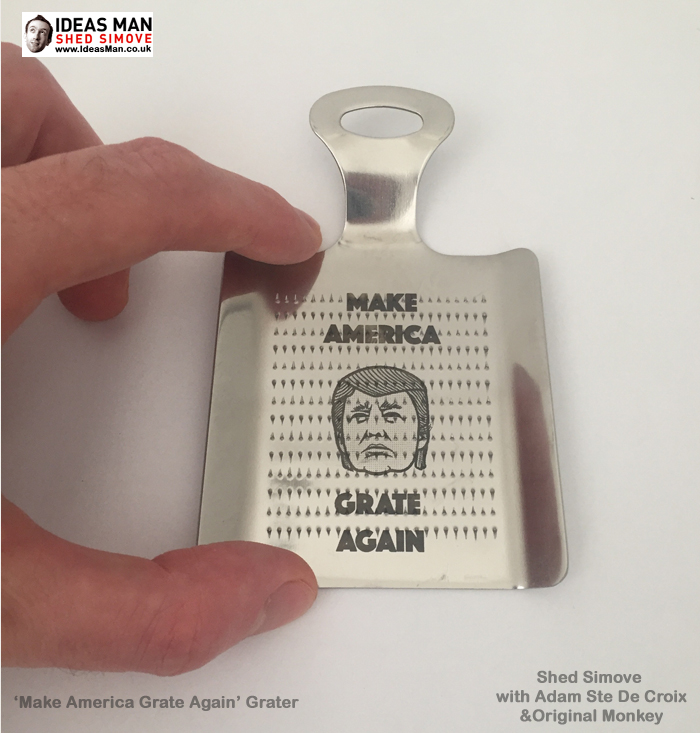'Make America Grate Again' Grater Dares To Take On Trump's Nutty Side